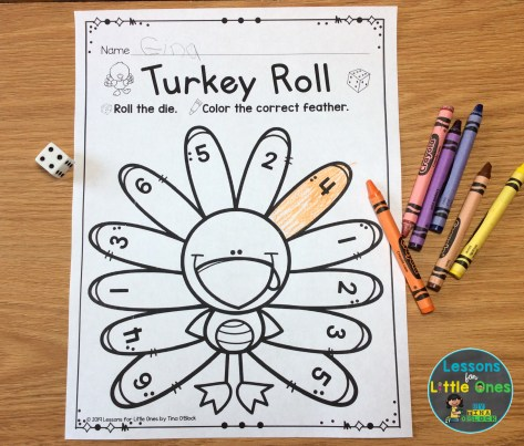 Thanksgiving roll and cover game free
