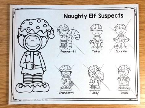 Christmas escape room for kindergarten first grade
