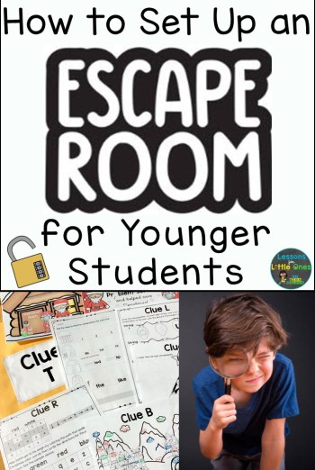 How to Set Up an Escape Room for Younger Students