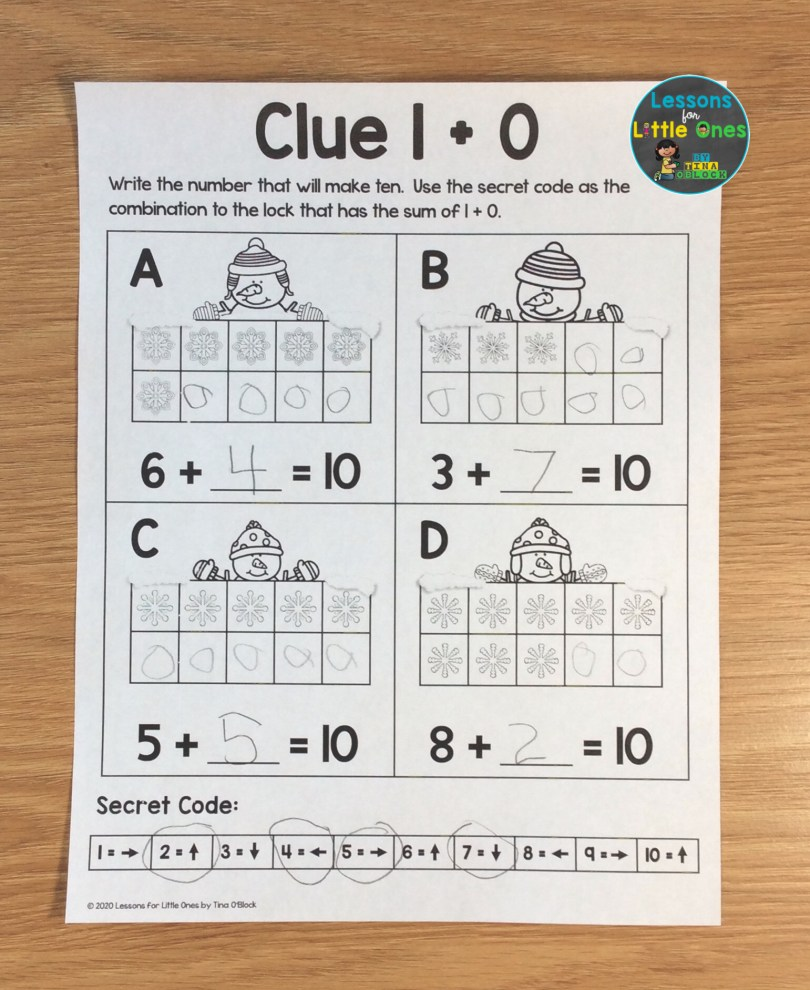 escape room clues for younger students