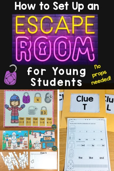How to Set Up an Escape Room for Young Students