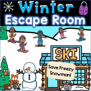winter escape room kindergarten - first grade