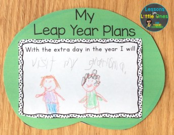 leap year writing prompt