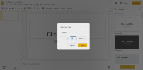 Using PDF Files in Google Slides