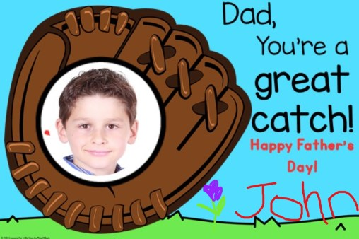 Father's Day Card kids can make during Distance Learning