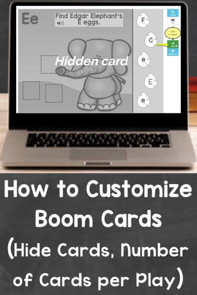 How to Customize Boom Cards