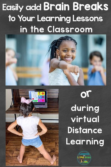 Easily add Brain Breaks to Learning in the Classroom or During Distance Learning
