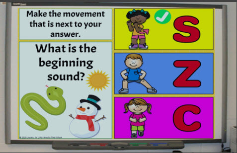 using movement in the classroom