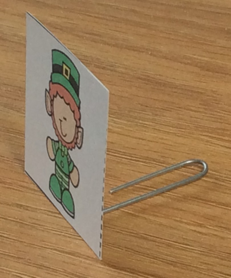 St. Patrick's Day unplugged coding activity