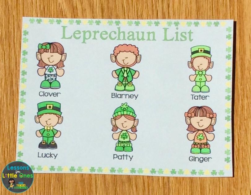 escape room suspect list St. Patrick's Day