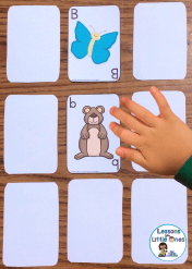 alphabet activities card game