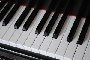 clavier piano noir