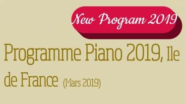 Compétition piano jeunes