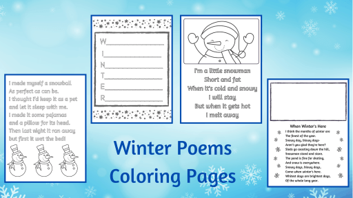 winter poems for kids