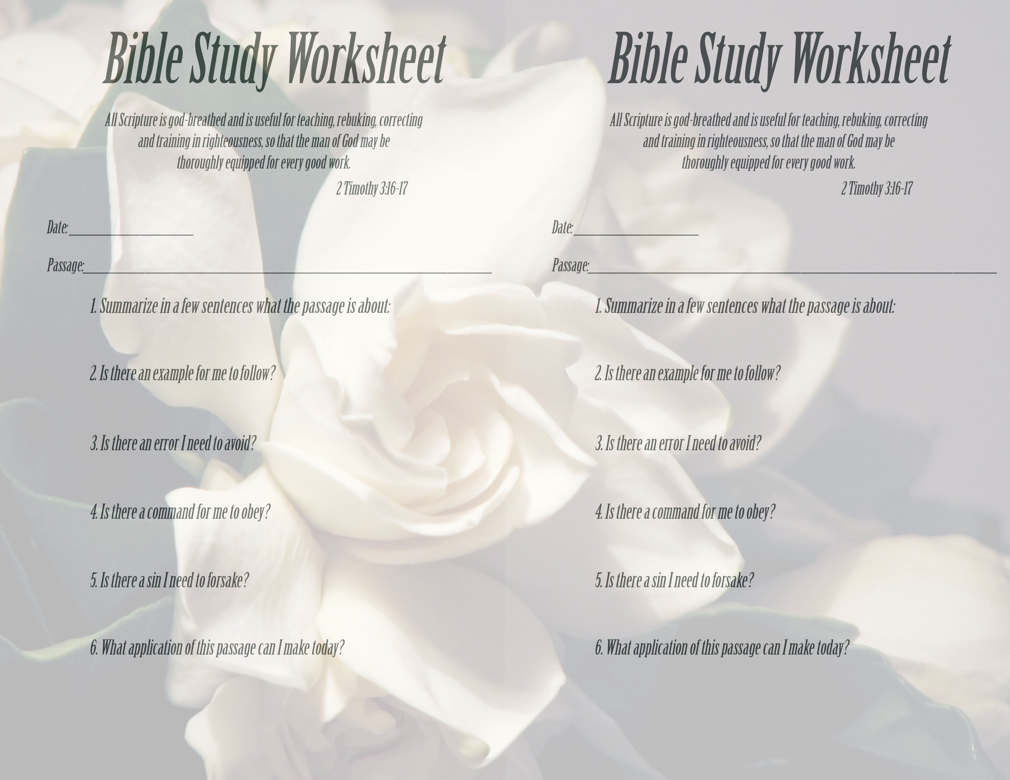 Free Bible Lessons For Christian Women