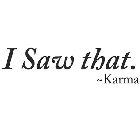 i_saw_that_karma