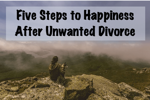 happiness after unwanted divorce