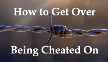 get over being cheated on