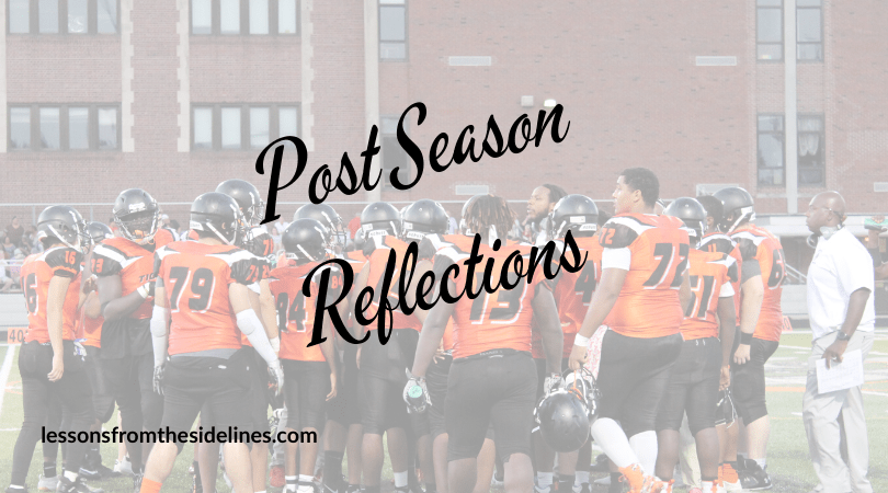 coach's wifes post season reflections