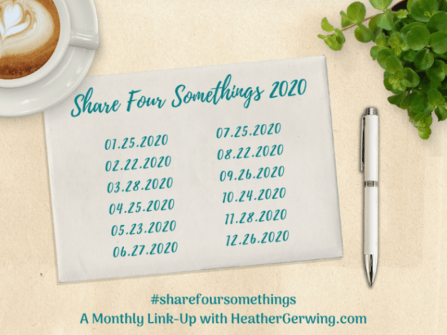 Share Four Somethings April 2020