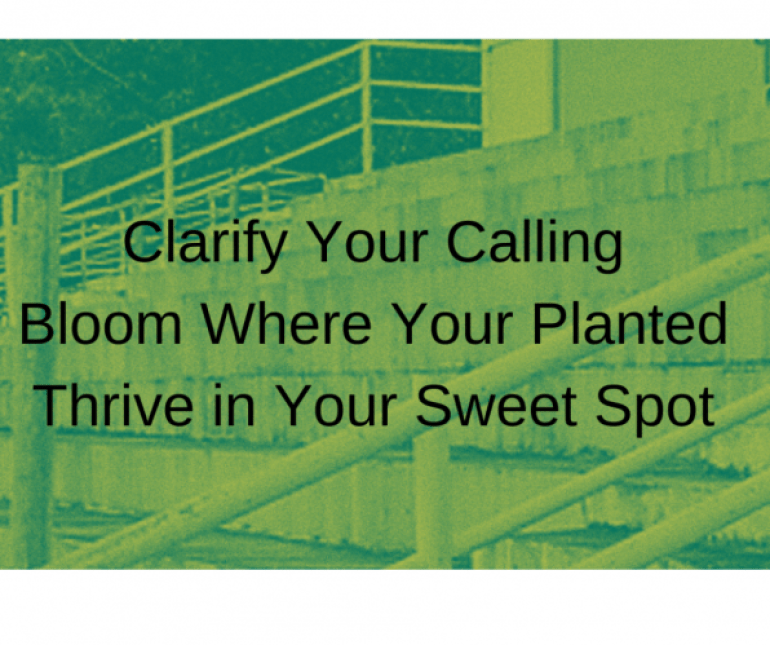 clarify your calling