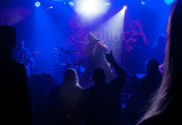 Zephyra performs at Sticky Fingers in Gothenburg, September 2016.