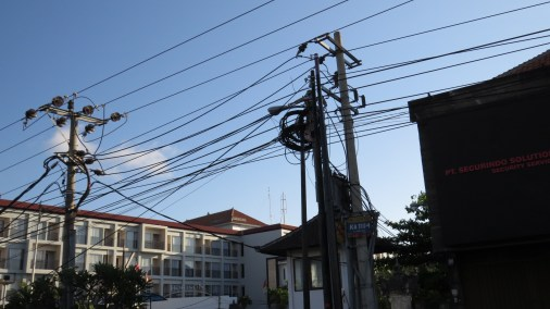 Power lines are everywhere!