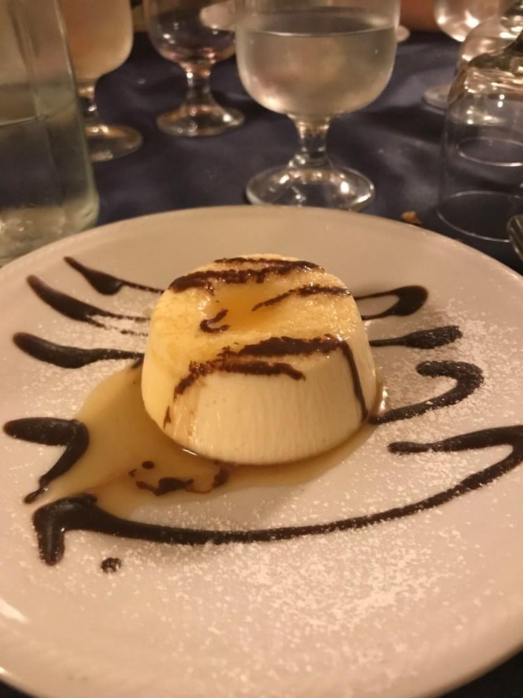 My favorite dessert I had in Orvieto from Trattoria del Moro Anne