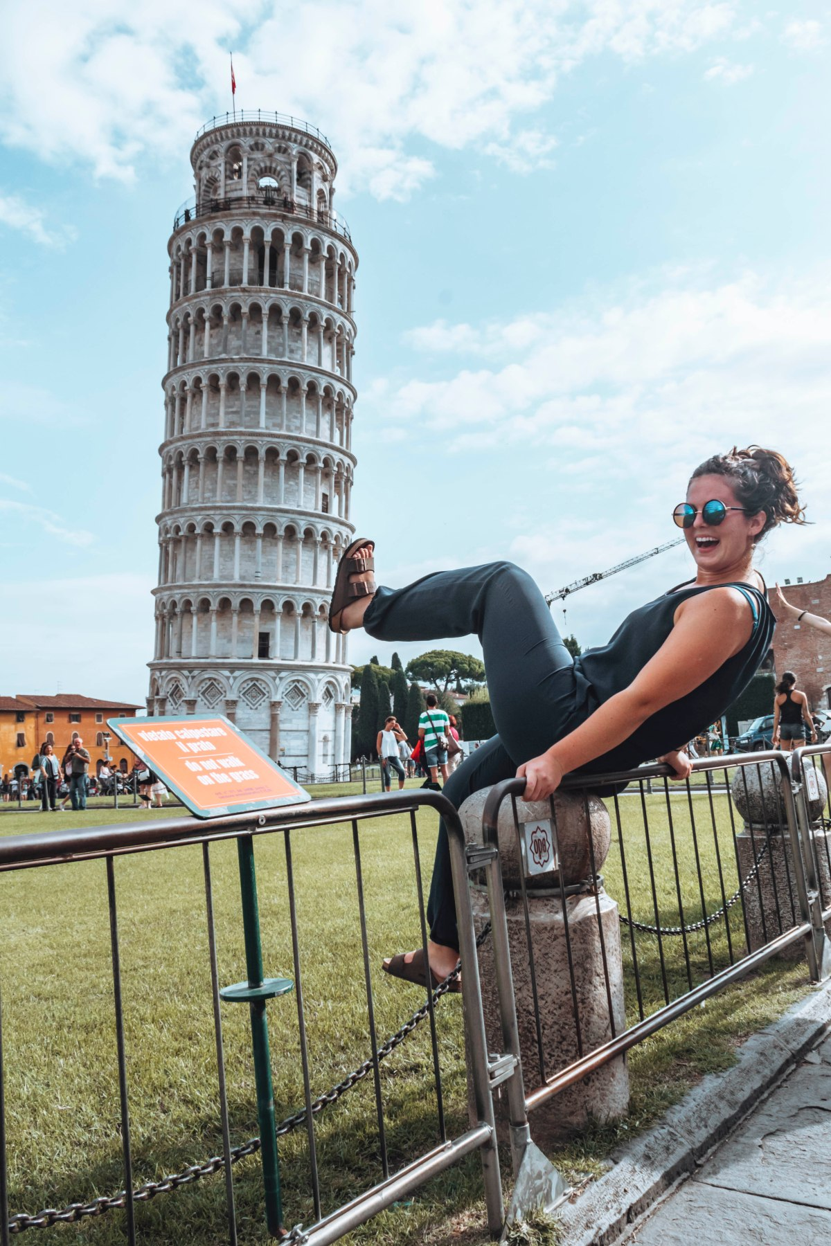 The Leaning Tower of Pisa Tacky Pictures
