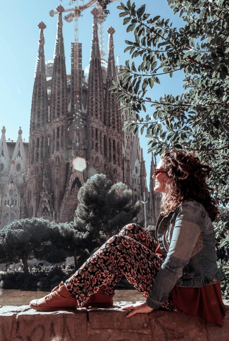 Sagrada Familia church in Spain