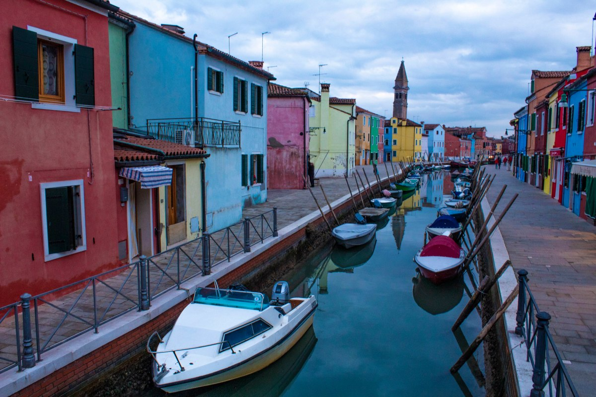Wonderland of Burano Italy