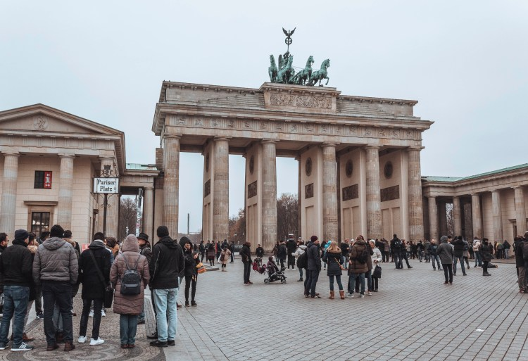 walking tour in Berlin Germany