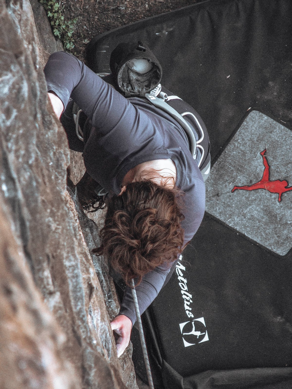 first time lead climbing tips