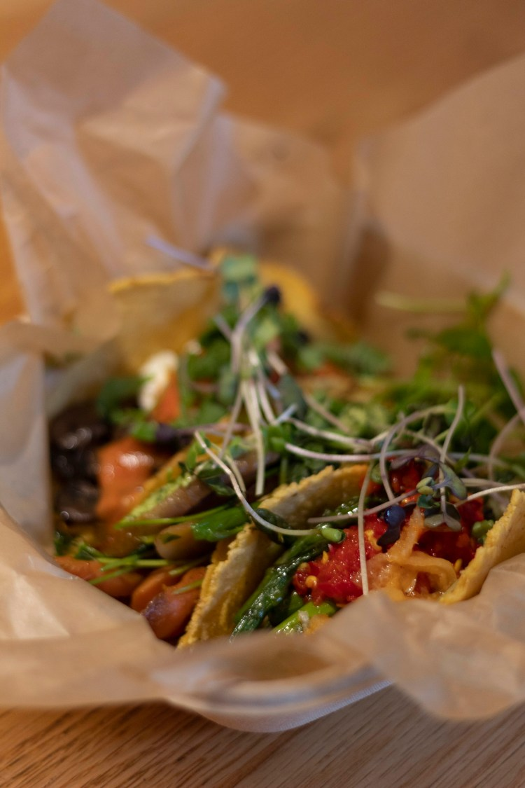 vegetarian tacos- vegan food in Washington D.C.