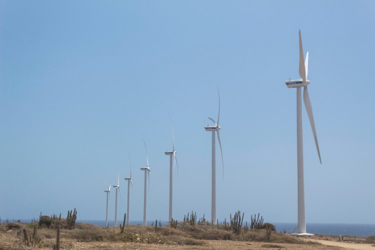 windmills in Aritok National Park