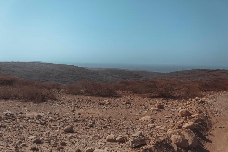 Desert in Aruba