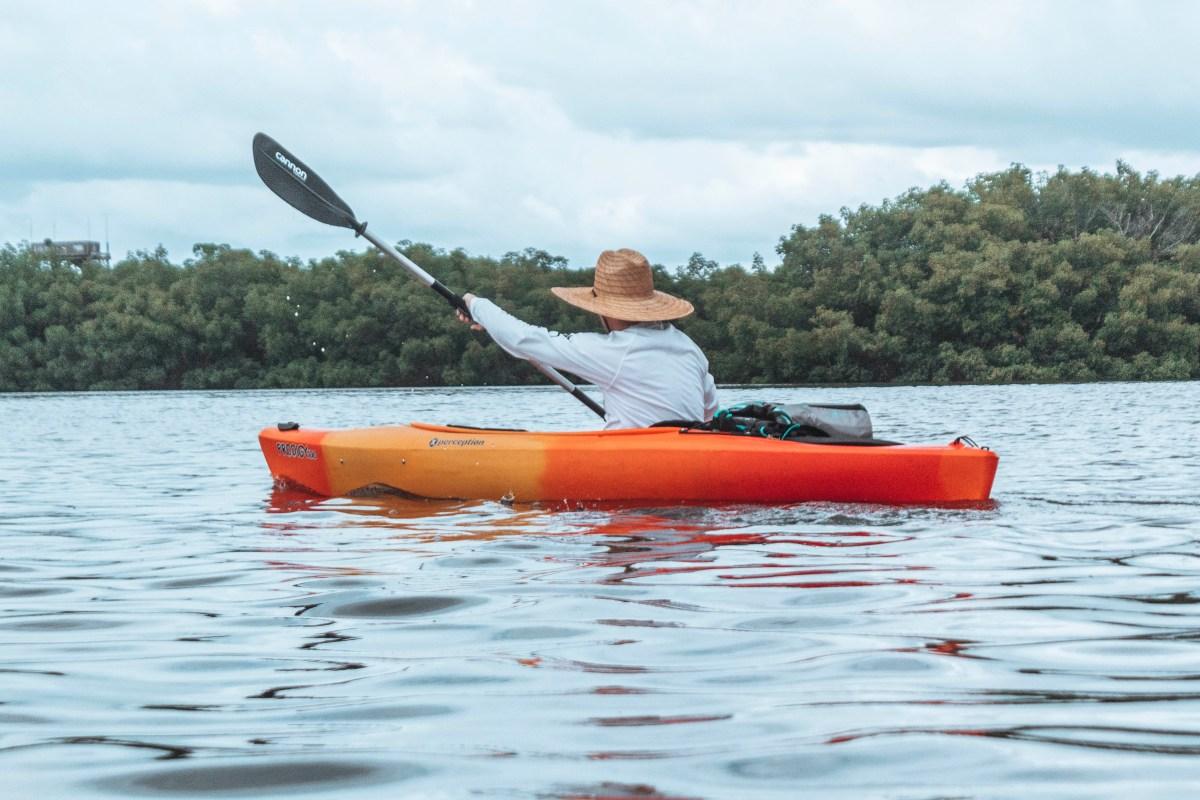 Kayaking in the Weedon Island Preserve
