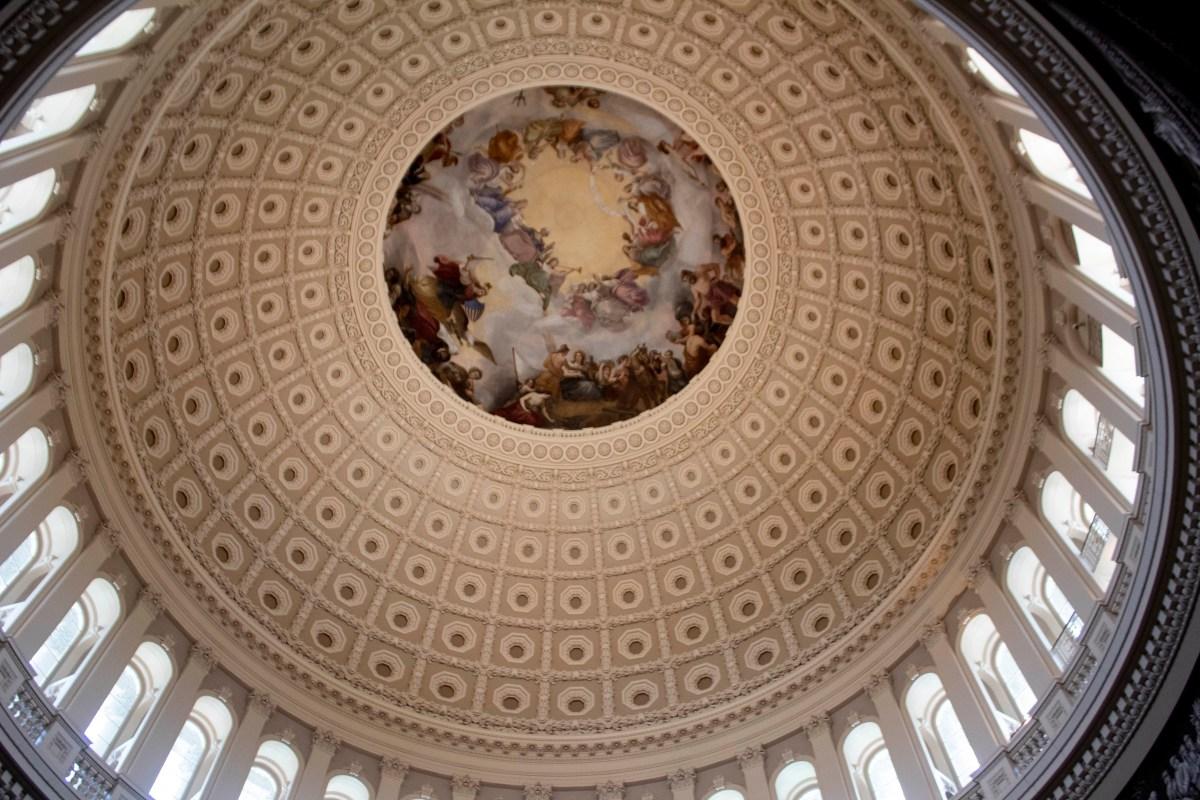 Interior of Capitol Building