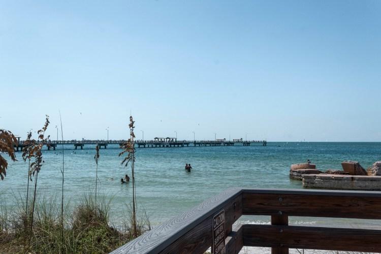 Fort de Soto- best beaches west coast Florida