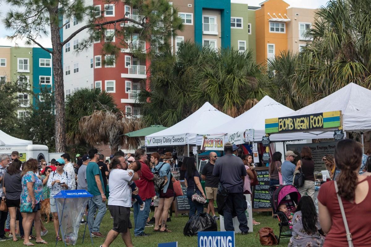 vegan festival vendors
