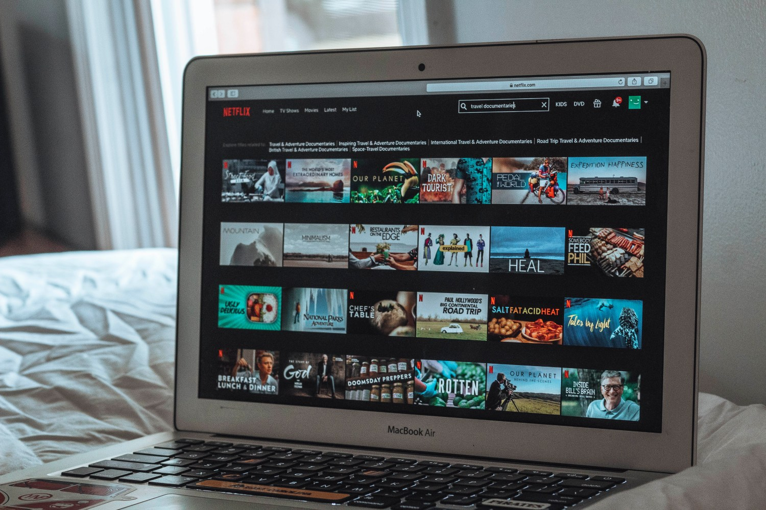 travel and nature shows Netflix