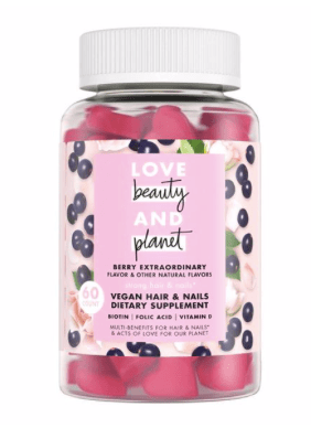 Love Beauty and Planet- hair & nails dietary supplement