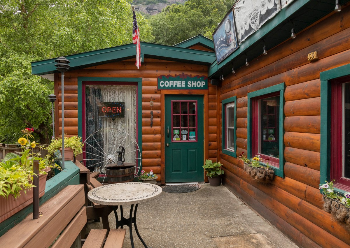 Coffee on the Rocks- Lake Lure Vacation
