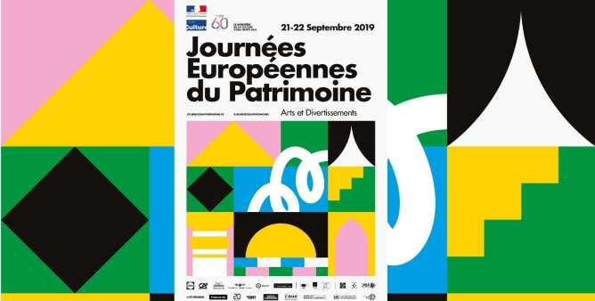 logo des journées européennes du patrimoine à Lille