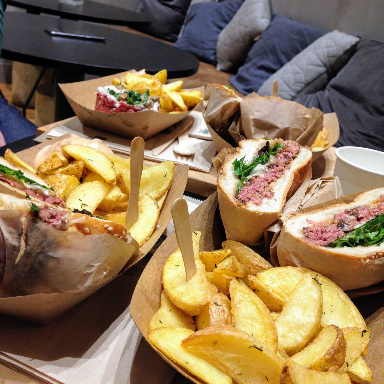 Resto Burger Canard Street Lille