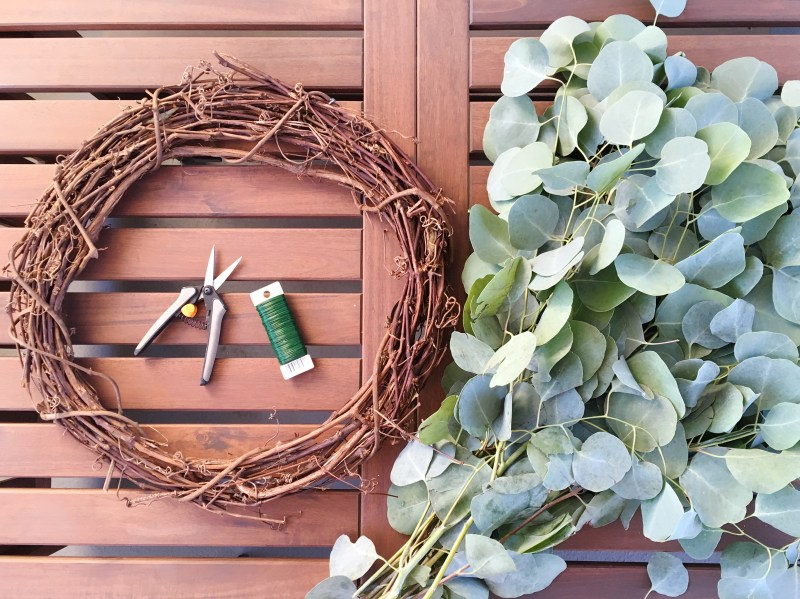 eucalyptus wreath supplies