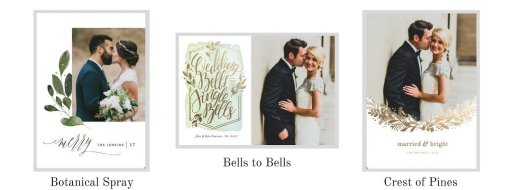 Minted Wedding Holiday Cards