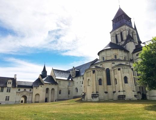 fontevraud abbey loire valley