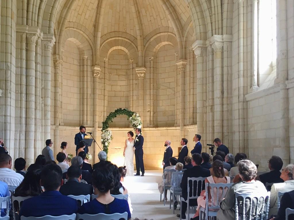 Wedding Ceremony - Abbaye Royale de Fontavraud