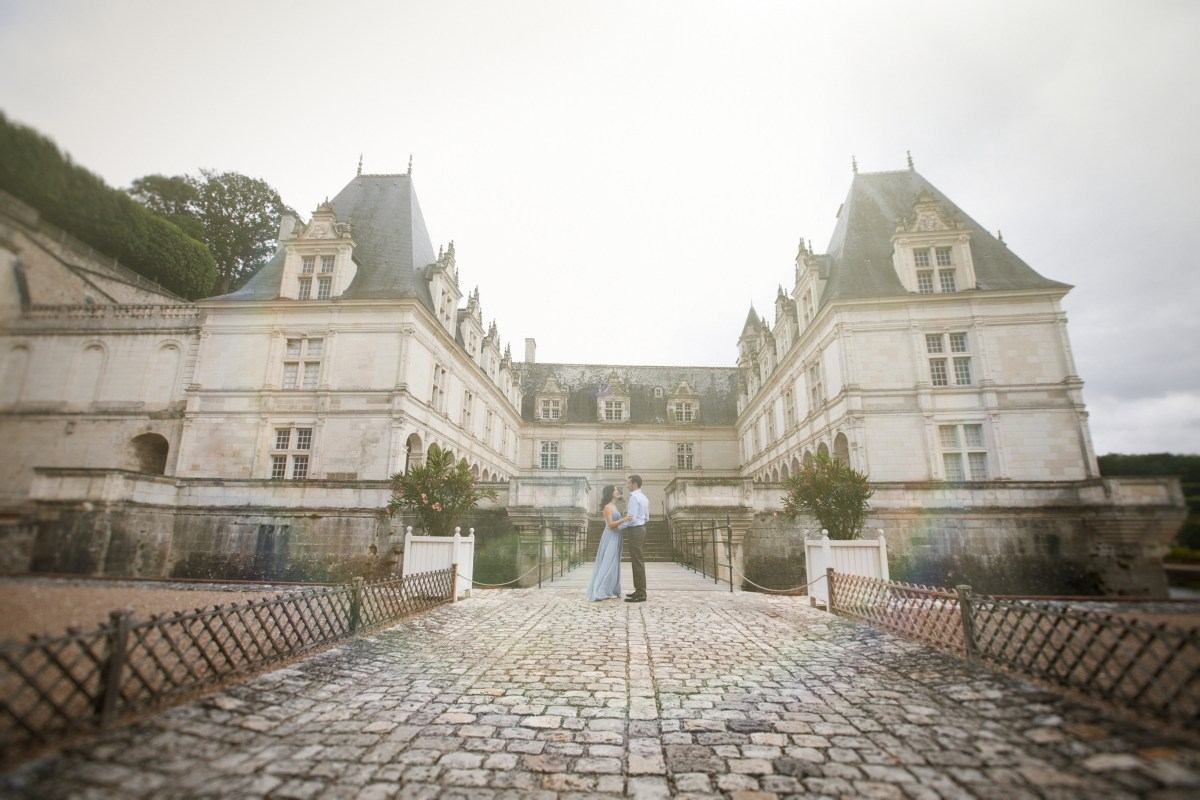 Our Engagement Session at Château de Villandry